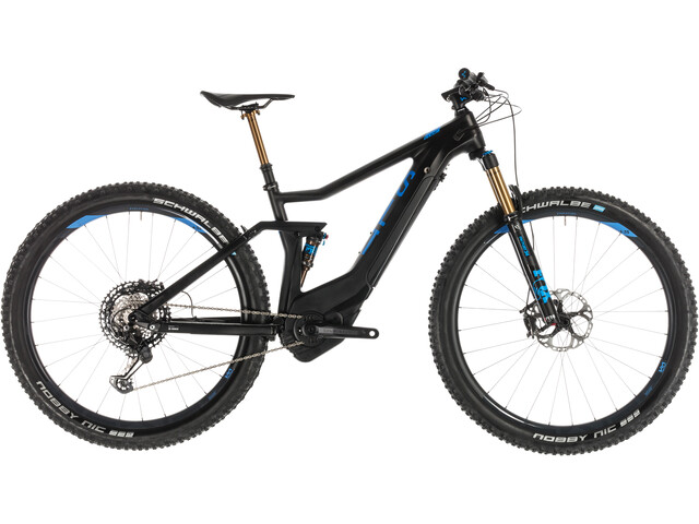 Cube Stereo Hybrid 120 HPC SLT 500 E-MTB Full Suspension black